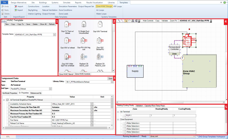 templates workspace